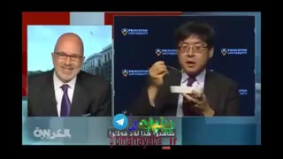 حشره خوردن کارشناس آمریکایی بخاطر ترامپ