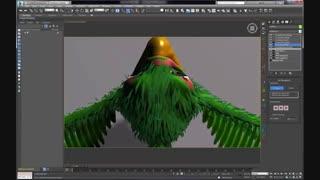 Ornatrix 3dsmax: Feathers Part 2