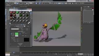 Ornatrix 3dsmax: Feathers Part 4 (Texturing)