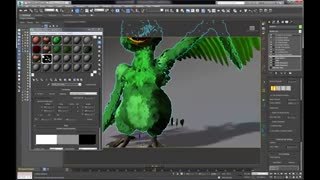 Ornatrix 3dsmax: Feathers Part 5 (Feather Objects)