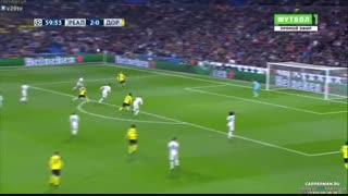 خلاصه بازی: رئال مادرید  2 - 2  دورتموند