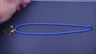 آموزش ساخت دستبند زیبا پاراکورد(2)