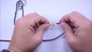 آموزش ساخت دستبند زیبا پاراکورد(3)