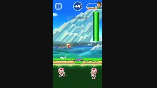 گیم پلی و آموزش اولیه بازی Super Mario Run