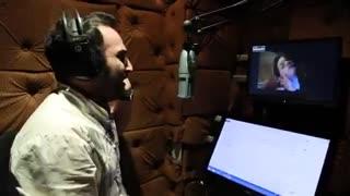 کلیپ دوبله نقش احمد در سریال ماه پیکر