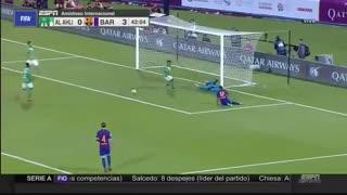 خلاصه بازی:  الاهلی  3 - 5  بارسلونا