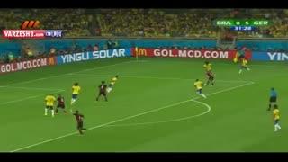 ادعای شاخ بودن نمی کنم!اما باافتخارطرفدار این تیمم!آلمان7-1برزیل(جام جهانی2014-خلاصه بازی)