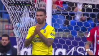 خلاصه بازی:  اتلتیکومادرید 1 - 0  لاس پالماس