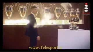 رونالدو در یک قدمی مسی؛ دریافت چهارمین توپ طلا