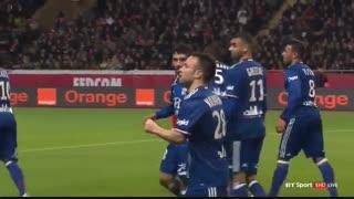 خلاصه بازی:  موناکو  1 - 3  لیون