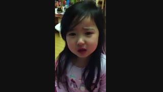 چگونگی  معذرت خواهی یک دختر کره ای  4 ساله به مادرش