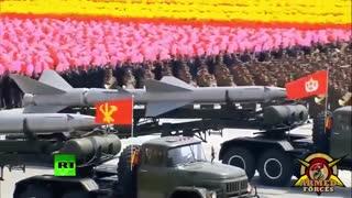 ارتش بسیار زیبا و منظم کره شمالی