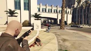 مد قطع شدن سر در بازی GTA V