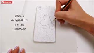 آموزش جلد گوشی با چسب حرارتی