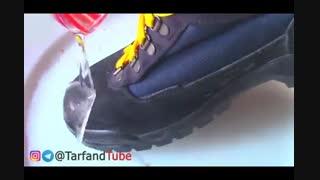 چگونه کفش خود را زد آب کنیم؟
