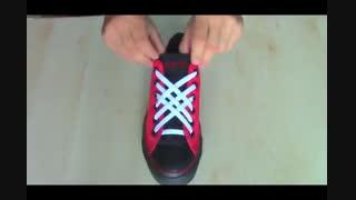 5 روش زیبا برای بستن بند کفش