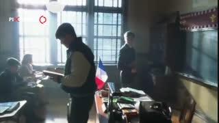 سکانس معرفی خود به عنوان معلم دی کاپریو در فیلم اگه میتونی منو بگیر(Catch Me if You Can,2002)