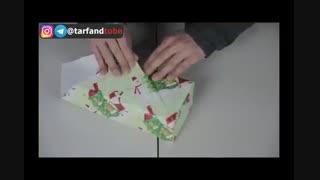 کادو پیچ کردن هدیه به صورت ژاپنی!