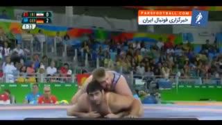 نتیجه شرم آور ملی پوش ایرانی در المپیک ریو