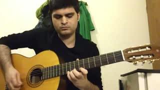 تنهاترین عاشق از رضا روح پور با گیتار