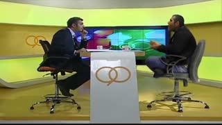 گفتگوی طنز علی غلامی با عادل فردوسی پور