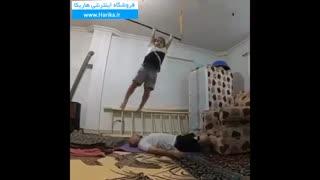 ویدیوی بسیار جالب و دیدنی از آرات حسینی