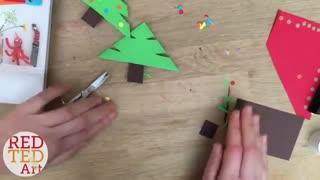 بوکمارک درخت کریسمس
