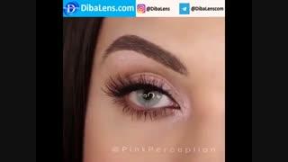 لنز ایلوژن  الیو دایموند| DibaLens.com- Olive Diamond