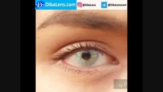 لنز ایلوژن گرین دایموند2| DibaLens.com- Green Diamond