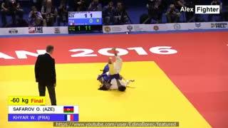 بهترین ضربه فنی های جودو در مسابقات قهرمانی اروپا 2016