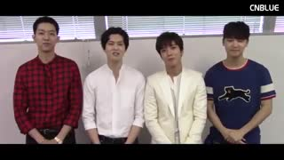 CNBLUE] 2017 New Year's Greeting Message]