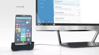 گوشی هوشمند اچ پی و ویندوز HP Elite x3 and Windows 10