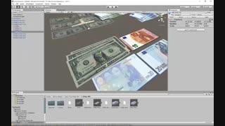 Unity vuforia - شبیه سازی مدل سه بعدی روی کارت