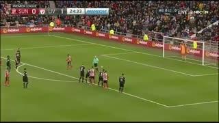 خلاصه بازی:  ساندرلند  2 - 2  لیورپول