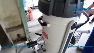 جارو برقی نیمه صنعتی Mistral 352 DS جمع آوری مواد جامد و مایع