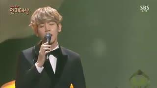 """Exo Baekhyun _""""For you"""" ost _Sbs Drama award"""