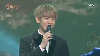 Exo Baekhyun & seohyun _Hey jude_Sbs drama awards