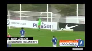 جنگ یا فوتبال ؛ سوپر گل های دیدنی در لیگ برتر بانوان