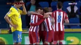 خلاصه بازی:  لاس پالماس  0 - 2  اتلتیکومادرید