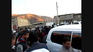 اعتراض مردم روستای کولان از فرماندار مریوان