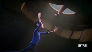 تریلر سریال انیمیشنی Trollhunters با تم Stranger Things