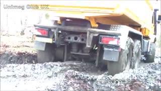 آفرود کامیون مرسدس بنز زتروس 6*6