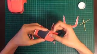 آموزش ساخت ماکت خودرو با کاغذ