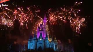 New Years Eve Fireworks Walt Disney World 2017 - Magic Kingdom Fantasy In The Sky Full Show 09:55