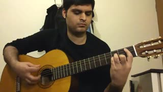 روز سرد از شادمهر عقیلی با گیتار
