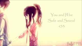 Nightcore safe and sound انیمه