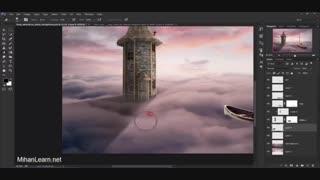 آموزش Matte Painting در فتوشاپ برای خلق تصاویر ویژه و خلاقانه
