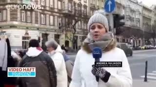ویدئوهفت|دیوار مهربانی در بوداپست مجارستان