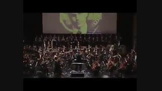اجرای زنده موسیقی فیلم طالع نحس 3 از Jerry Goldsmith