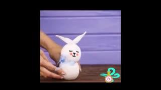 آموزش ساخت یه عروسک خوشگل با جوراب